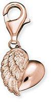 Engelsrufer Herz mit Flügel rosé (ERC-HEART-R)