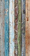Livingwalls pop.up Panel Bretter blau grün