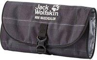 Jack Wolfskin Mini Waschsalon black glencheck