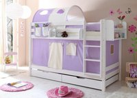 Ticaa Etagenbett Marcel - Classic lila/beige