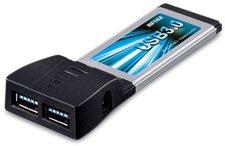 Buffalo USB-3.0 ExpressCard mit 2 Anschlüssen (IFC-EC2U3/UC2)