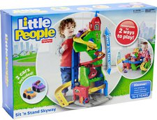 Fisher Price Little People - Hochhausrennbahn