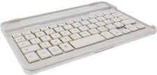 InLine Bluetooth Tastatur Alu-Cover - iPad mini (weiß) DE