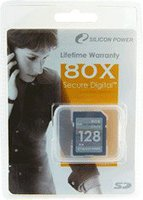 Silicon Power SD Card 128 MB