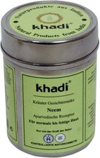 Khadi Naturprodukte Gesichtsmaske Neem (50 g)