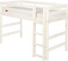 Flexa Mittelhohes Bett mit Gerader Leiter
