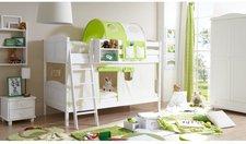 Ticaa Etagenbett Erni - beige/grün