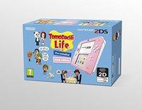 Nintendo 2DS rosa-weiß + Tomodachi Life