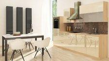 Respekta Küchenzeile Premium 280 cm Vanille-Akazie (RP280HAVA)