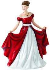 Royal Doulton Dekofigur Ruby, 17 cm