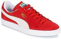 Puma Suede Classic + high risk red/white