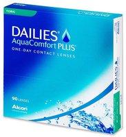 Ciba Vision Dailies AquaComfort Plus Toric -4,00 (90 Stk.)