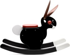 Playsam Rocking Rabbit schwarz