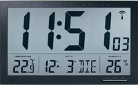 Conrad DCF-Wanduhr mit Thermo-Hygrometer