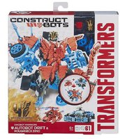 Hasbro Transformers Construct-A-Bots - Warriors Drift (A6166)
