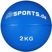 ScSPORTS Medizinball blau