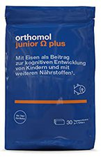 Orthomol Junior Omega plus Kaudragees (30 Stk.)