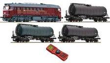 Roco Digital-Starterset Diesellokomotive 120 mit einem Kesselwagenzug DR (35010)