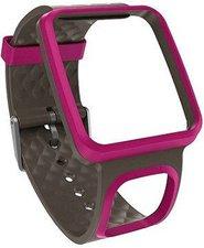 TomTom Komfort-Armband schmal pink