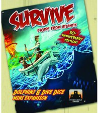 Stronghold Games Survive: Dolphins and Dive Dice (englisch)