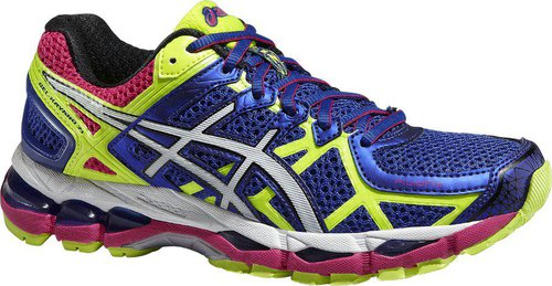 Asics Gel-Kayano 21 Women blue/white/flash yellow
