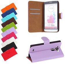 Bralexx Bookstyle Tasche Flieder (LG G3)