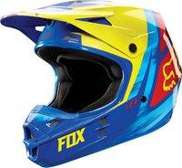 Fox V1 Vandal blau/gelb