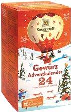 Sonnentor Gewürz-Adventskalender Bio 24 Portionsbeutel 116 g