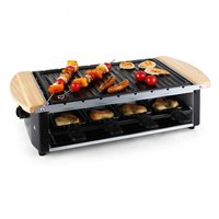Klarstein Chateaubriand Raclette-Grill mit Grill-Platte