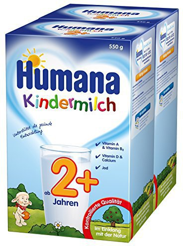 humana kindermilch 2 550 g preisvergleich ab 6 74. Black Bedroom Furniture Sets. Home Design Ideas