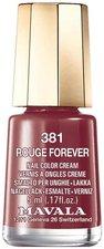 Mavala Mini Color 381 Rouge Forever (5 ml)