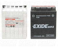Exide Bike 12V 12Ah YTX14AHL-BS