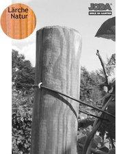 Jorkisch Zaunpfahl rund Lärche natur BxH: 12 x 150 cm