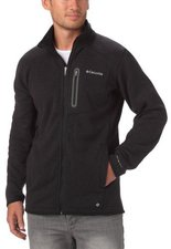 Columbia Men´s Altitude Aspect Full Zip Black Heather