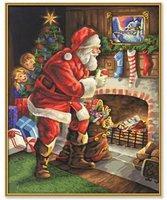 Schipper Malen nach Zahlen Der Weihnachtsmann am Kamin