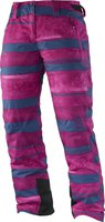 Salomon Iceglory Pant W Abyss Blue / Mystic Purple / Daisy Pink