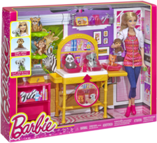 Barbie I Can Be Playset - Zoo Doctor