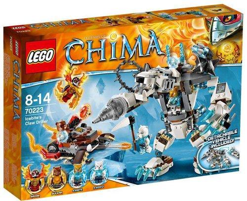 LEGO Legends of Chima - Icebites Eisbär-Mech (70223)