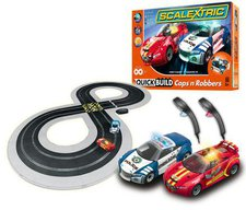 ScaleXtric QUICK BUILD Cops 'n' Robbers Set - (C1323)