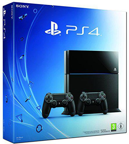 Sony PlayStation 4 (PS4) 500GB + 2 DualShock 4 Controller