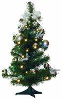 Best Season LED Weihnachtsbaum geschmückt 60 cm (004)