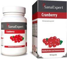 SanaExpert Cranberry Kapseln (60 Stk.)