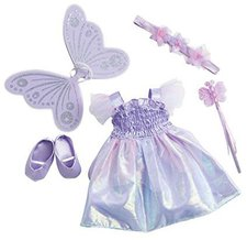 Zapf Creation Nelli dreams Kleiderset Fee lavendel