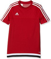 Adidas Tiro 15 Trainingstrikot Kinder kurzarm power red/white