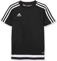 Adidas Tiro 15 Trainingstrikot Kinder kurzarm black/white