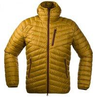 Bergans Slingsbytind Down Jacket W / Hood Dark Mustard / Dark Maroon