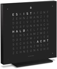 Qlocktwo Touch special Edition Black Metal