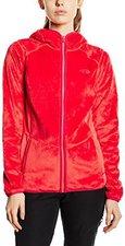 The North Face Women's Mossbud Full Zip Fleece Hoodie Rambutan Pink