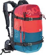 Evoc Zip-On ABS Guide Team 30L petrol/red/ruby