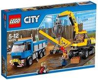 LEGO City - Bagger und Transportwagen (60075)